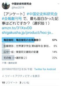 創刊号 Twitterアンケート②